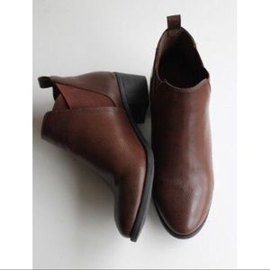 Women's Ankle Boots Leather Look